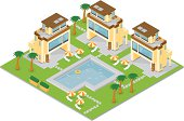 Isometric Holiday Resort