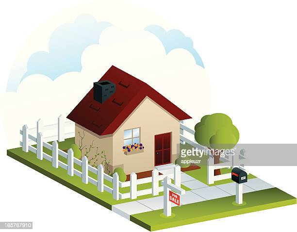 Isometric House for Sale