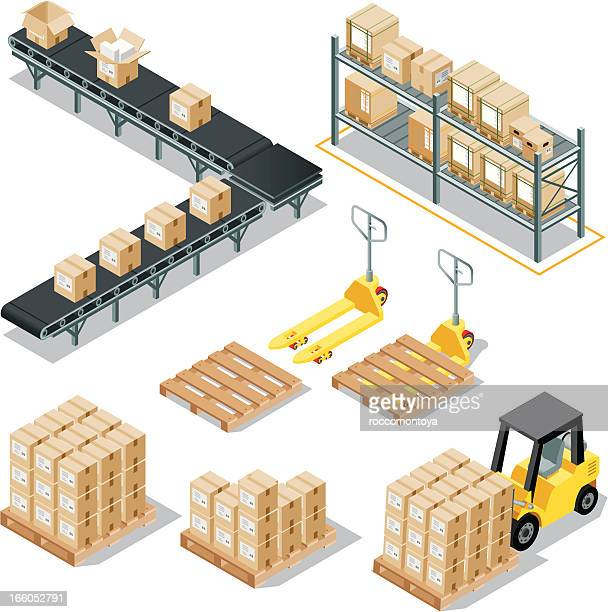 Isometric Logistic Delivery