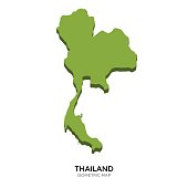 Free download of Thailand Map vector graphics and illustrations