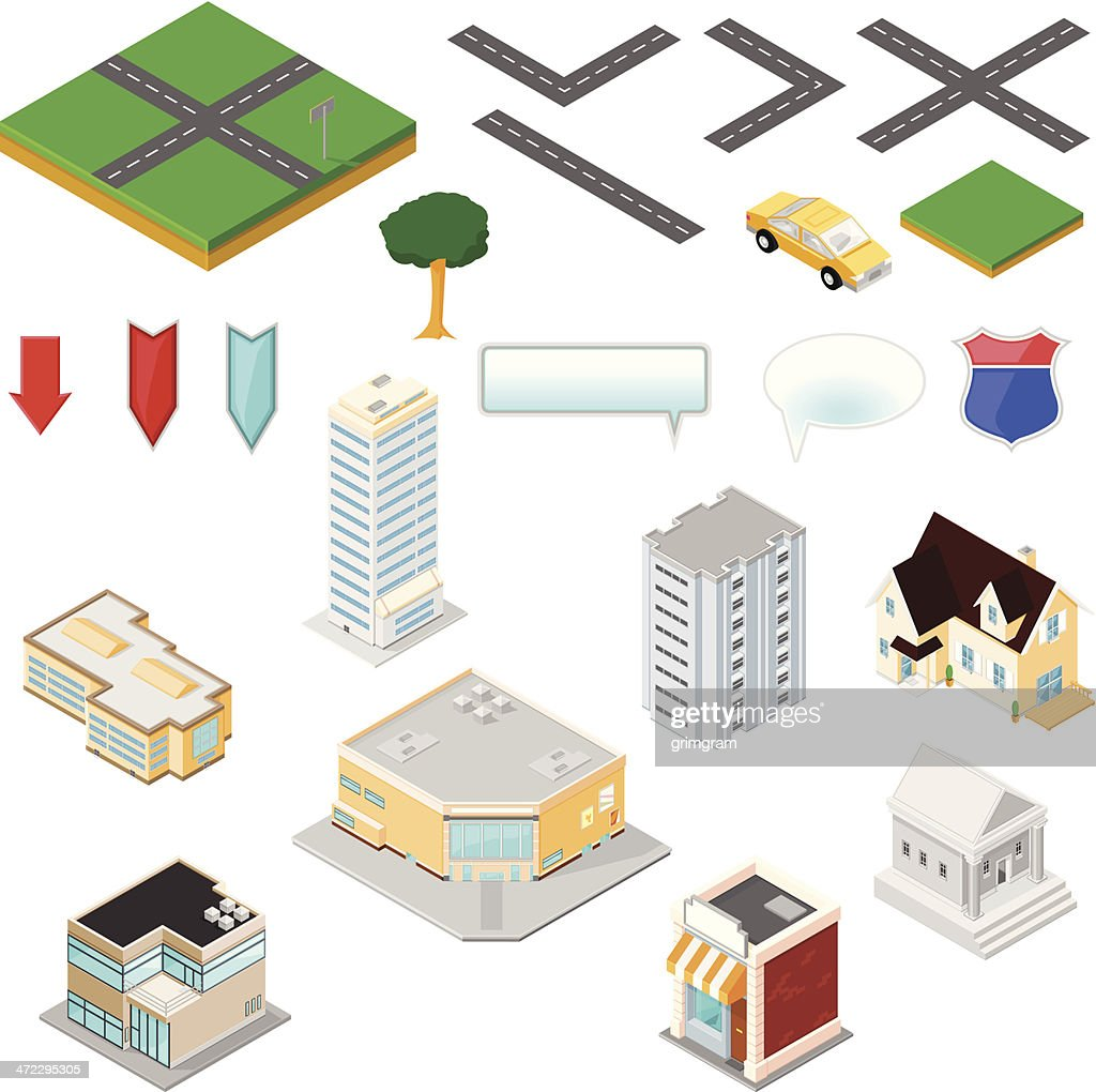 Isometric Map Tool Kit