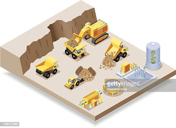 Isometric, Mining set