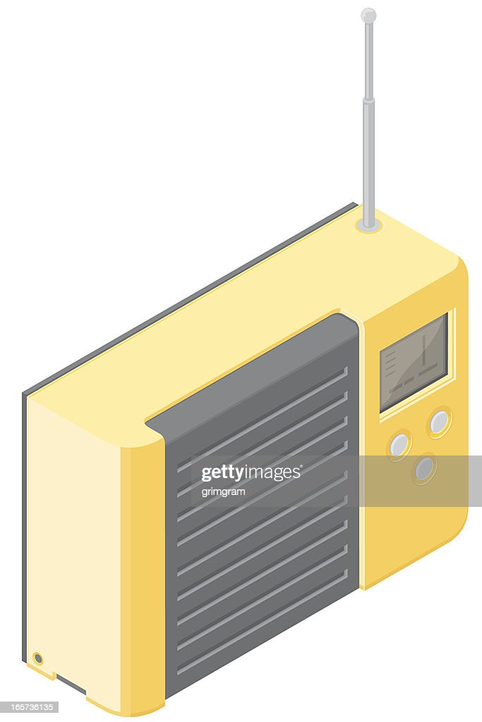 Isometric Portable Radio
