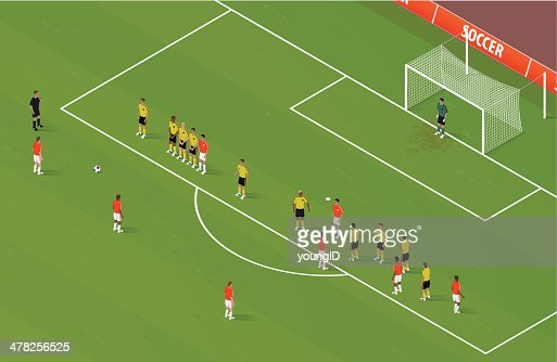 Isometric Soccer FreeKick