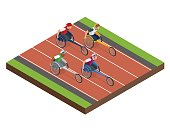 Isometric sports for peoples with disabled activity.