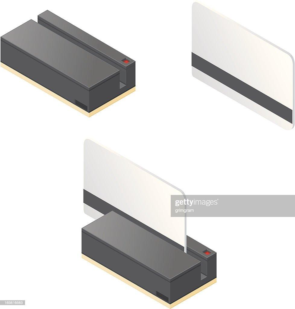 Isometric Swipe Card