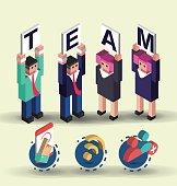 Isometric teamwork