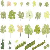 Isometric Trees and Shrubs