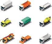 Isometric Trucks