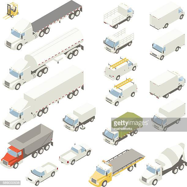 Isometric trucks