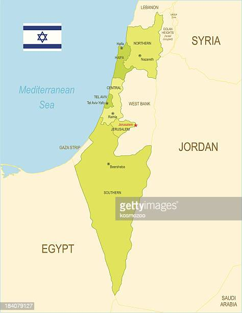 israel - lebanon country stock illustrations, clip art, cartoons, & icons