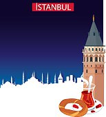 Istanbul and Galata Tower