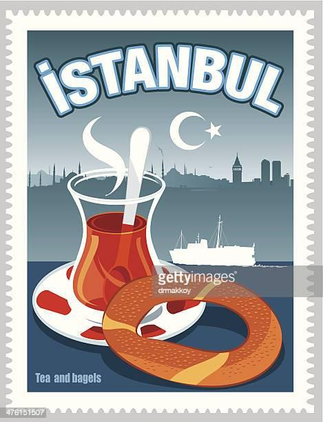 Istambul, chá e bagels