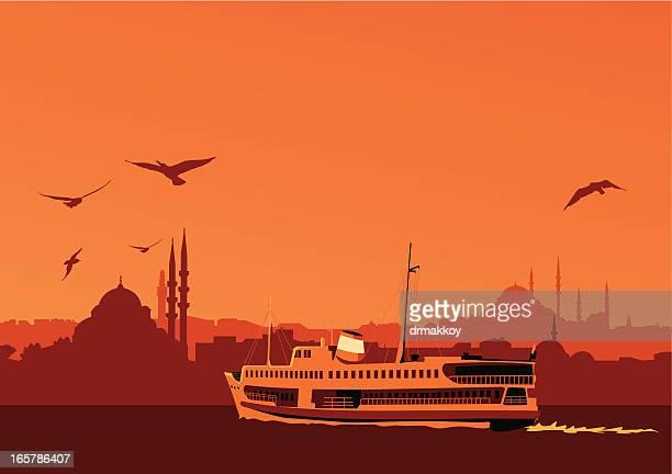 istanbul - istanbul stock illustrations