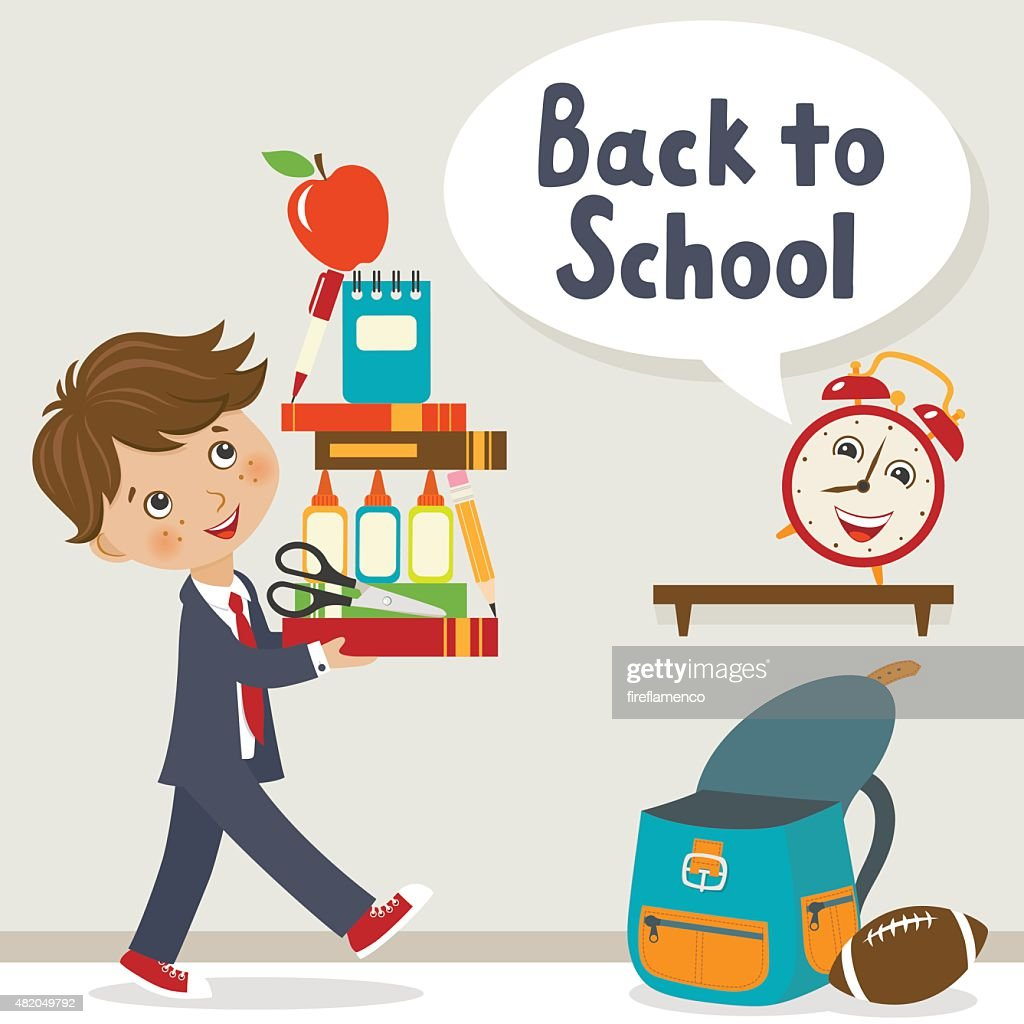 It is time to go to school