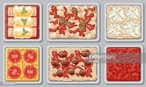 Italian Buffet (overhead view)