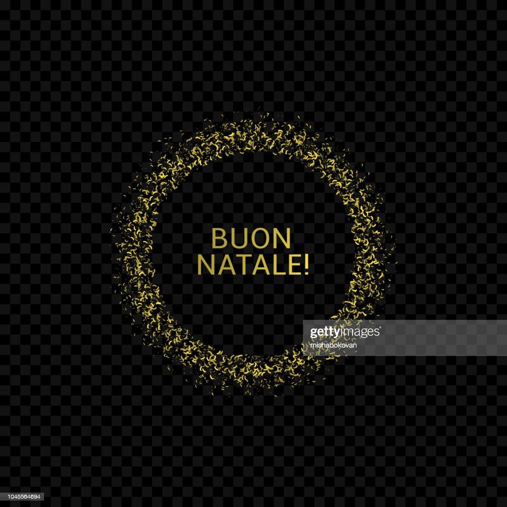 Italian Christmas label
