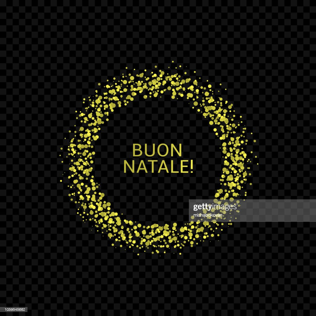 Italian Christmas label3