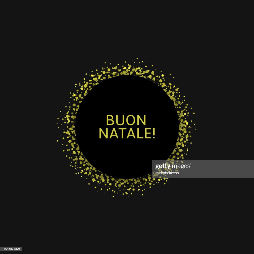 Italian Christmas label4
