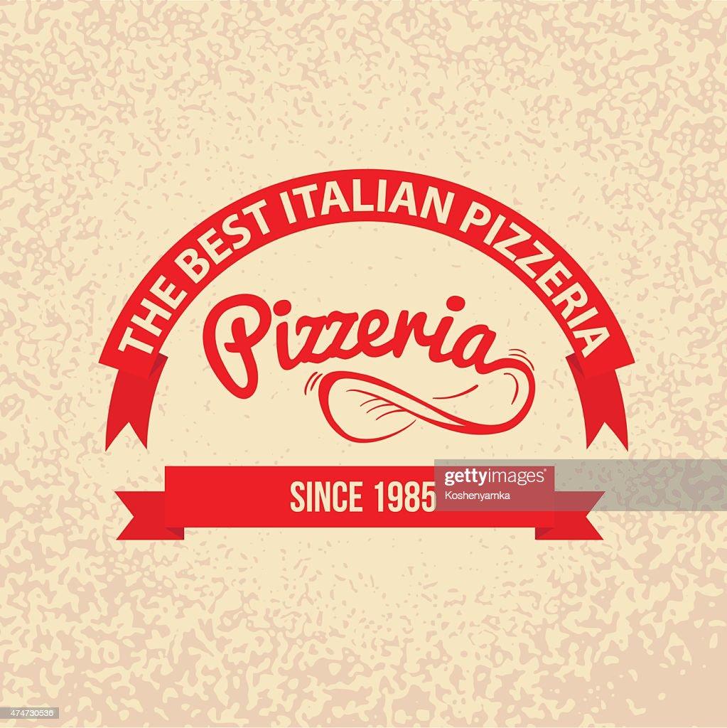 Italian cuisine Retro Vintage Label