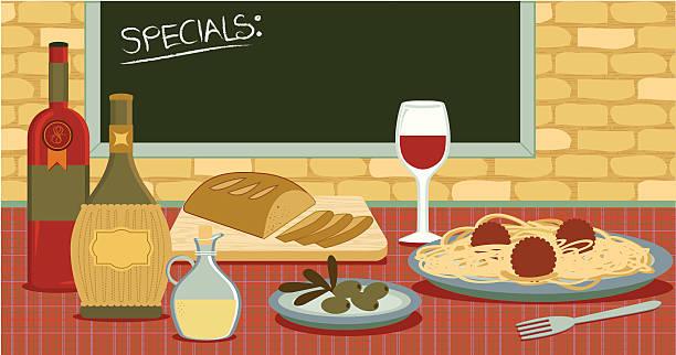 Italian food and restaurant