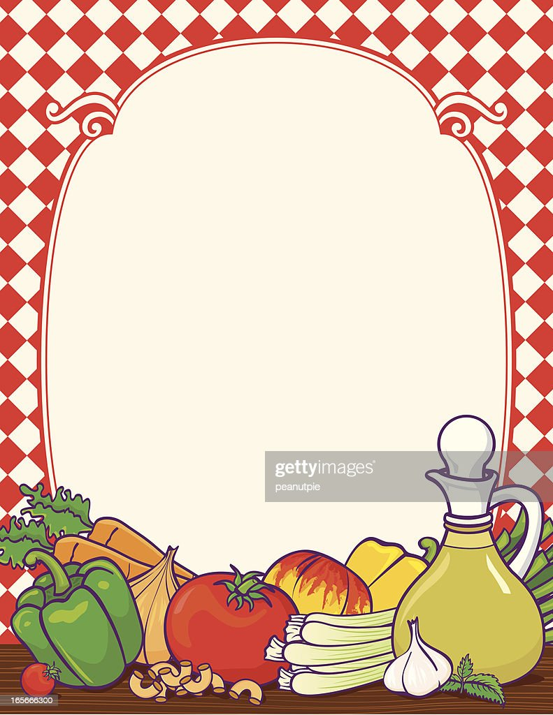 italian food border vector art getty images rh gettyimages com food drive border clip art free italian food border clip art