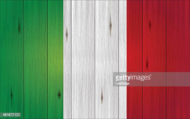 italian holiday background[wood board flag] - tree rings stock illustrations, clip art, cartoons, & icons