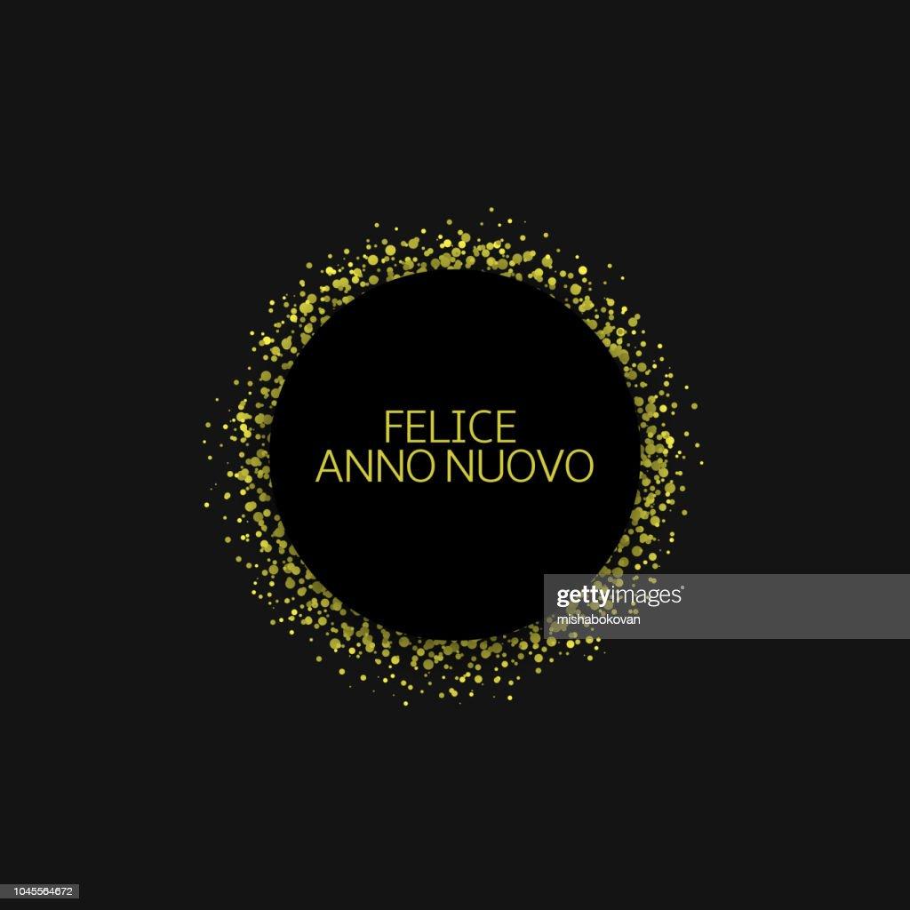 Italian New Year label4