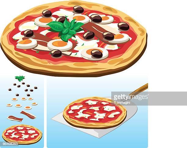 Italian Pizza illustration