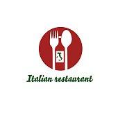 italian restaurant vector design template