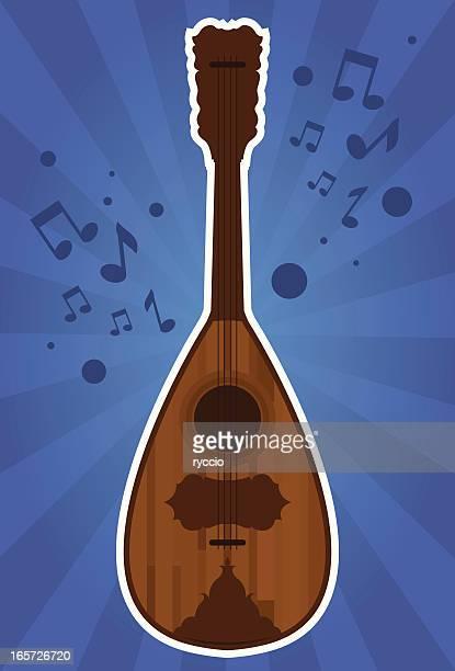Italian wood mandolin sound
