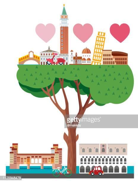 italy and travel - sardinia stock illustrations, clip art, cartoons, & icons