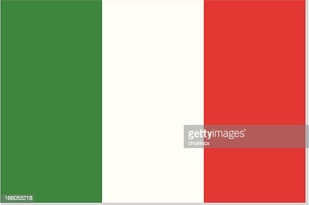 illustrations, cliparts, dessins animés et icônes de drapeau italie - italie