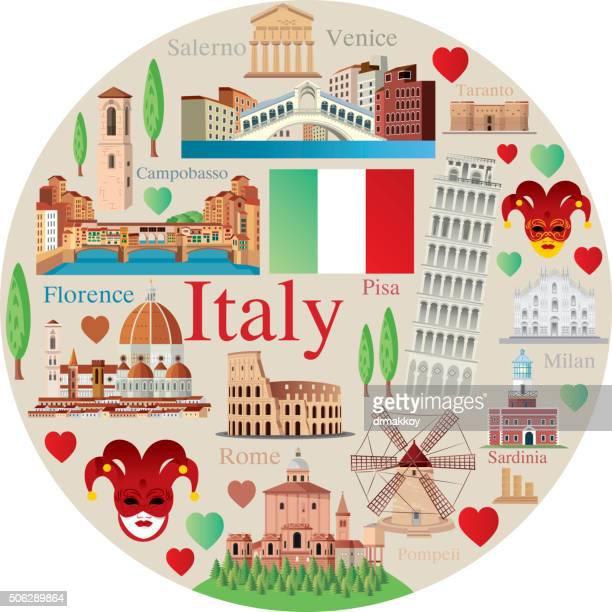 italy symbols - valle d'aosta stock illustrations, clip art, cartoons, & icons