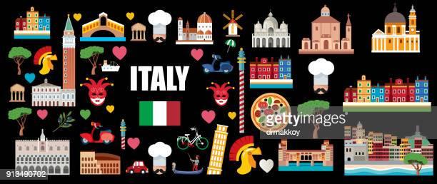 italy travel - mt vesuvius stock illustrations, clip art, cartoons, & icons