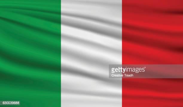 italy - italian flag stock illustrations