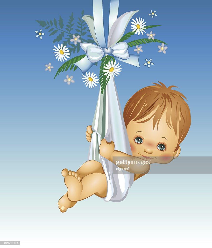 É um menino-bebê : Ilustração