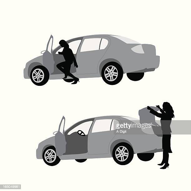 It's In TheTrunk Vector Silhouette