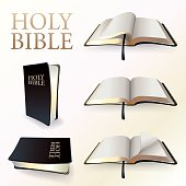 IVector llustration of Holy Bible