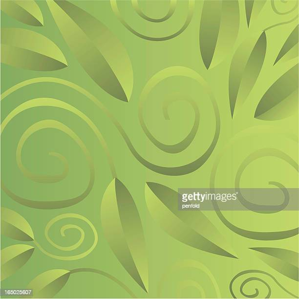 ivy spirals - high key stock illustrations, clip art, cartoons, & icons