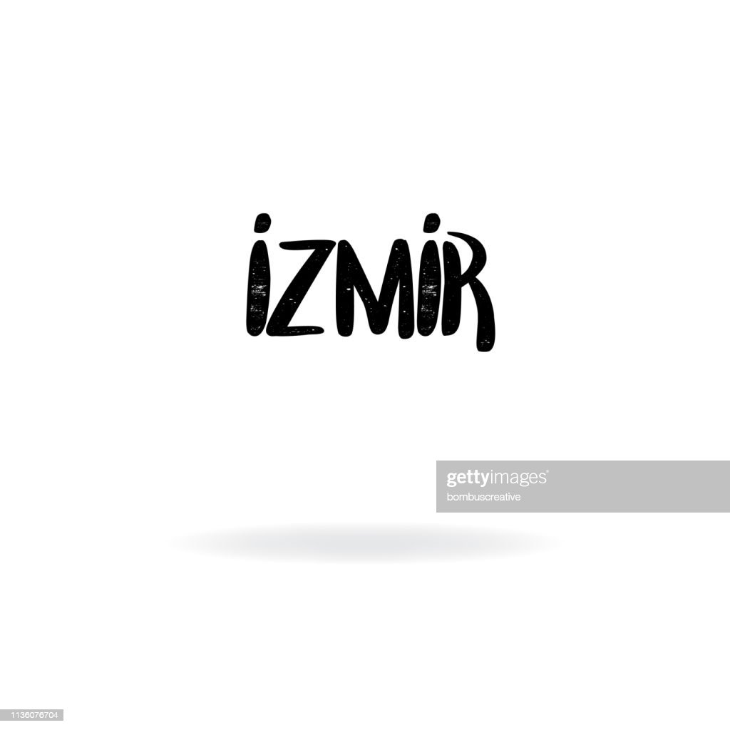 Izmir Lettering Design High Res Vector Graphic Getty Images