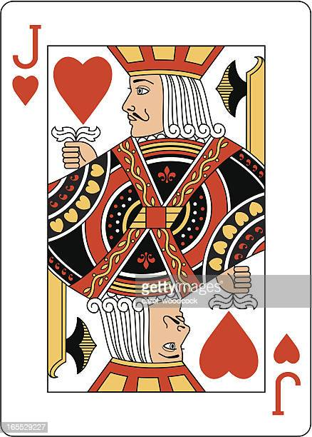 Jack of Hearts Two playing card