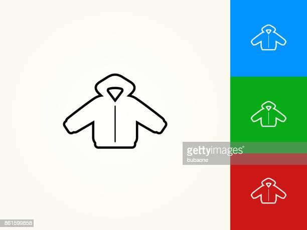 Jacket Black Stroke Linear Icon