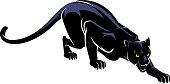Jaguar Crawl Silhouette