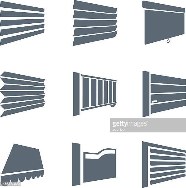 ジャロジーアイコン-イラストレーション - 日よけ点のイラスト素材/クリップアート素材/マンガ素材/アイコン素材