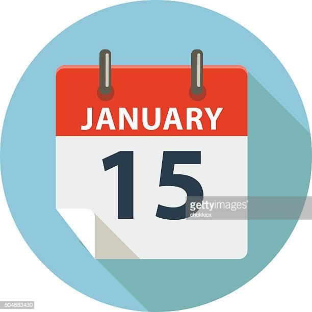 January 15th Calendar Date
