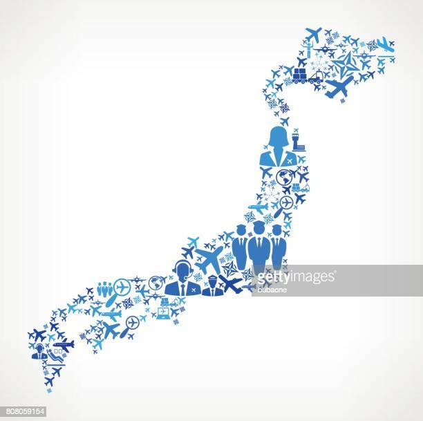 Japan Aviation and Air Planes Vector Graphic