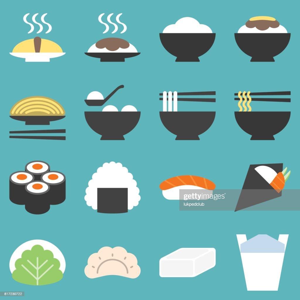 japan food icon