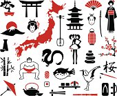 Japan icons