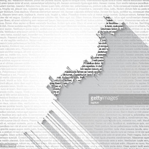 japan map on text background - long shadow - sea of japan or east sea stock illustrations, clip art, cartoons, & icons